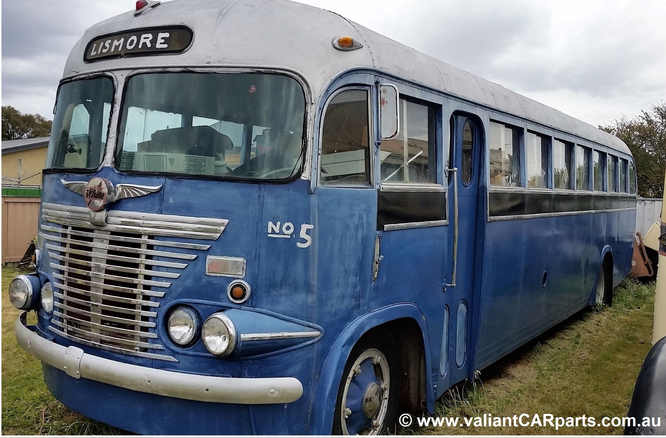 1954_WB22_WHITE_Lismore_vintage_bus_Coach_for_sale-LHF