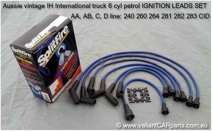 Aust_IH_International_truck_AA_AB_C_D_line-_240_260_264_281_282_283_6_cyl_Ignition_leads_set