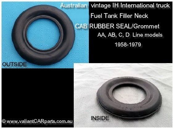 Australian_IH_International_truck_AA_AB_C_D_line-New_FUEL_Tank_FILLER_NECK_CAB_RUBBER_Seal
