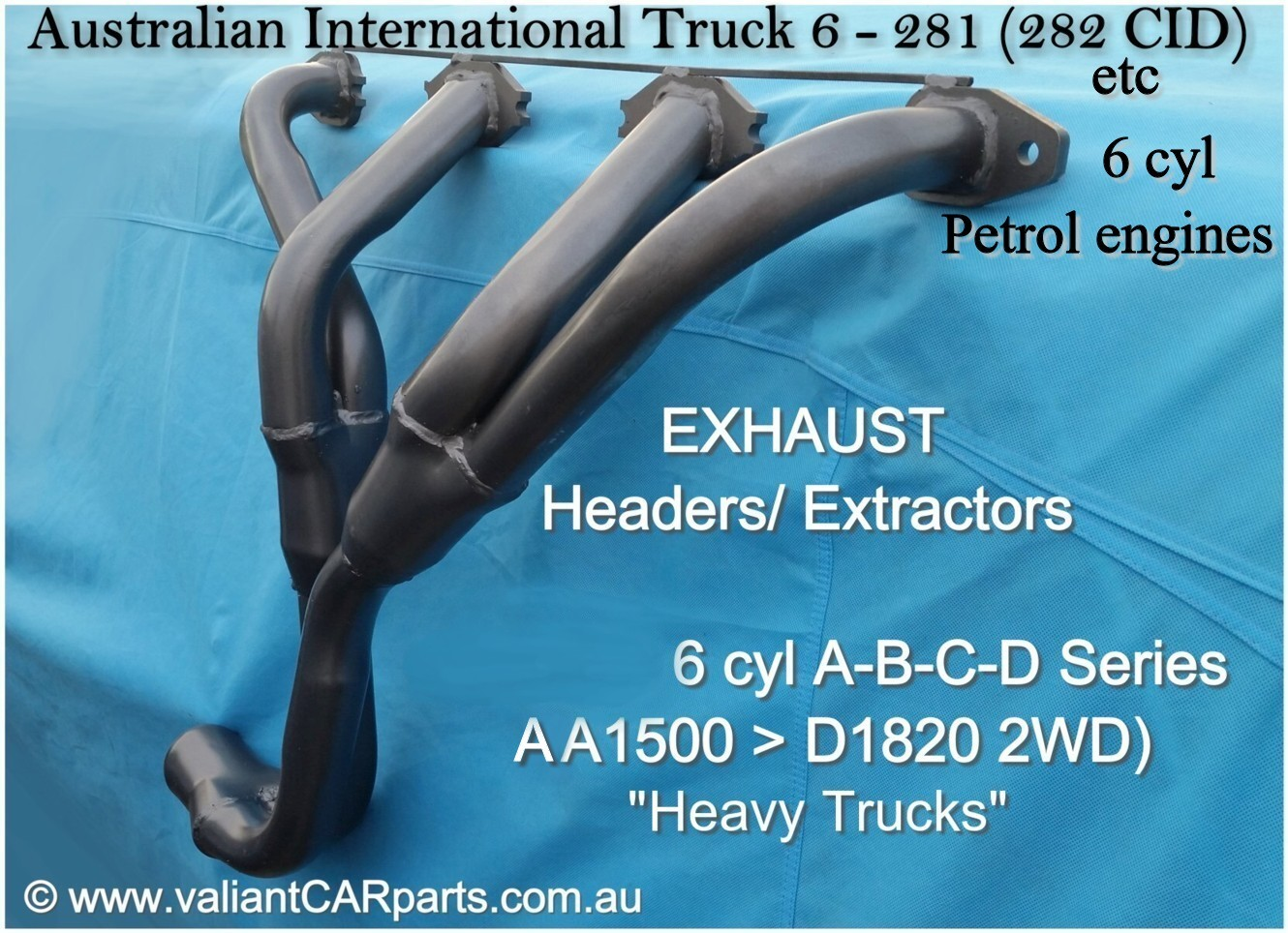 Australian_International_IH_Truck_6-281_6-282_EXHAUST_HEADERS_Extractors_petrol_AA-AB-C-D_line___