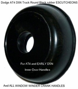 Dodge_AT4_D5N_Truck_Round_rubber_ESCUTCHEON-_WINDOW_WINDER_CRANK_HANDLE_
