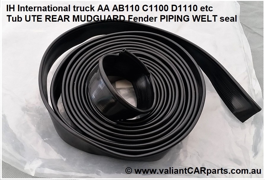 IH_International_truck_AA_AB110_C1100_D1110_Tub_UTE_REAR_MUDGUARD_Fender_PIPING_WELT_seal