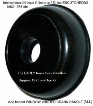 International_IH_truck_C-D_line_rubber_ESCUTCHEON-WINDOW_WINDER_CRANK_HANDLE