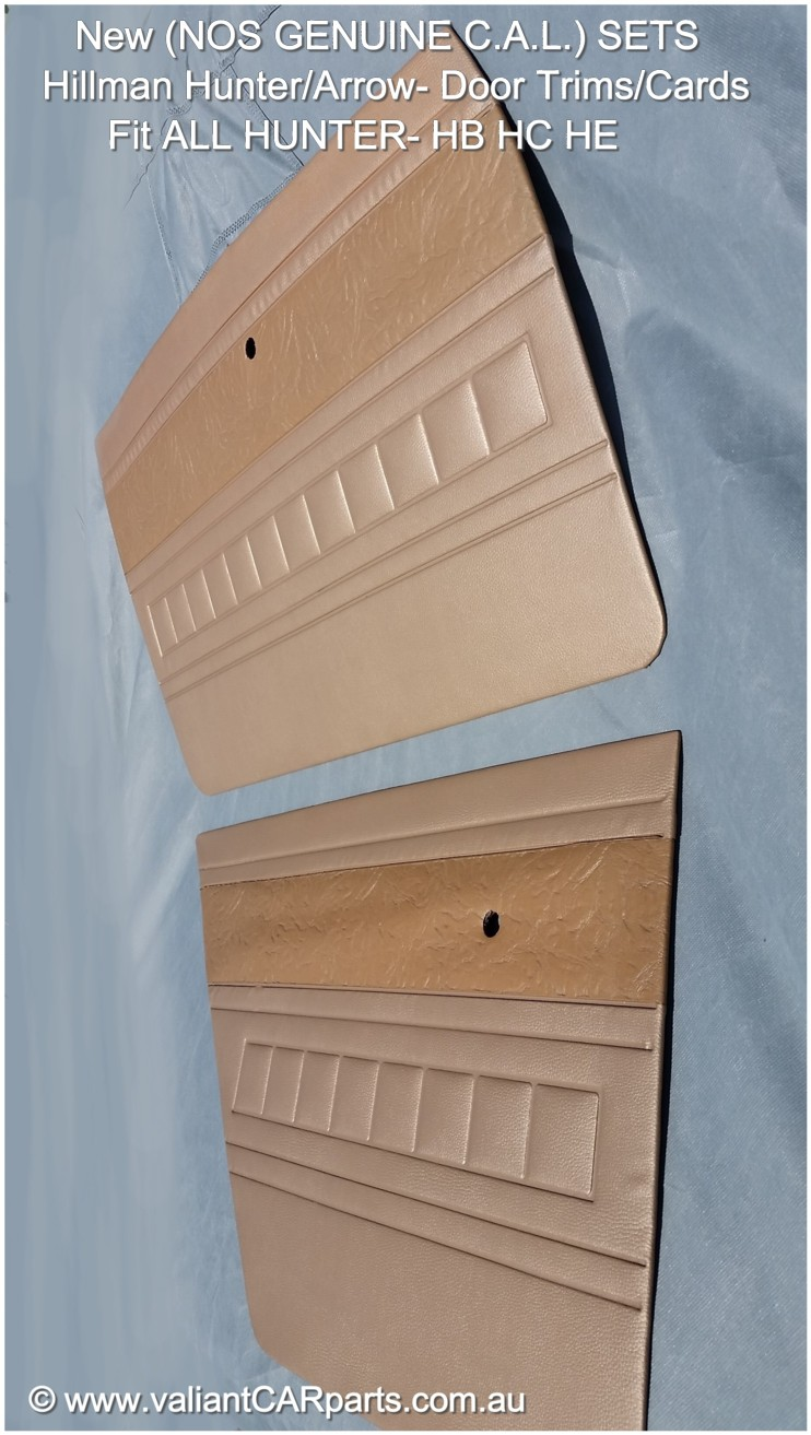 New_NOS_Hillman_Hunter_Arrow_door_trim_cards_HB_HC_HE-Neutral